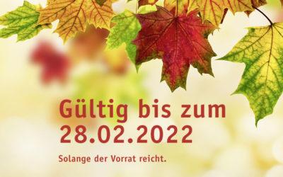 Herbst/Winter-Angebote